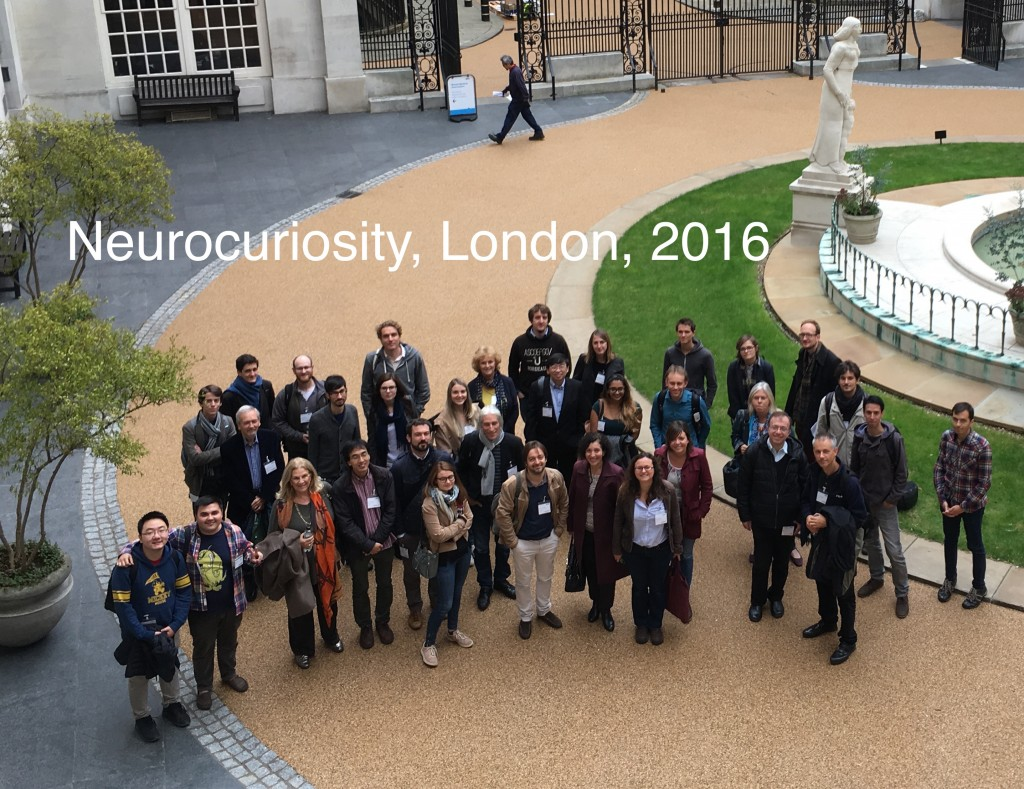 Neurocuriosity 2016 Photo