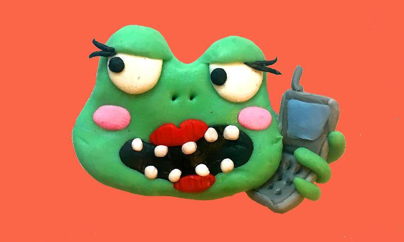 frog-talking